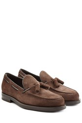 Tod's Tods Suede Loafers Brown