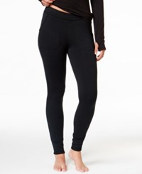 Cuddl Duds Comfortwear Pocket Leggings Dark Heather