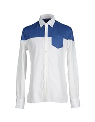 Galliano Shirts Shirts Men White