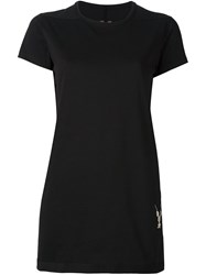Rick Owens Drkshdw Embroidered Detailing T Shirt Black
