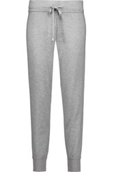 Magaschoni Silk Blend Tapered Pants Stone