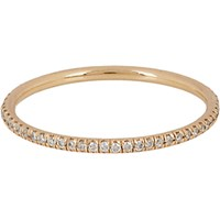 Zoe Women's Champagne Diamond And Rose Gold Eternity Band No Color