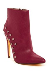 Michael Antonio Force Heeled Bootie Red