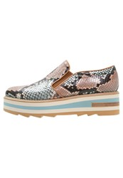 Zinda Brisa Slipons Nude Multicoloured