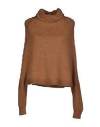Ekle' Turtlenecks Camel