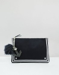 Tommy Hilfiger Tommyxgigi Nautical Cross Body Bag Navy Felt