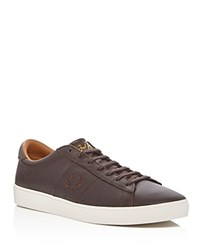 Fred Perry Spencer Lace Up Sneakers Brown