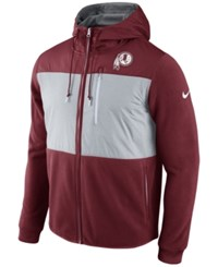 Nike Men's Washington Redskins Champ Drive Full Zip Hoodie Maroon