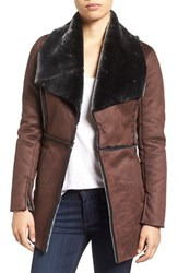 Kut From The Kloth Women's 'Abigail' Faux Shearling Coat