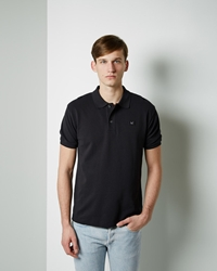 Acne Studios Kolby Polo Black