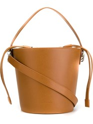 J.W.Anderson J.W. Anderson Structured Bucket Tote Nude And Neutrals
