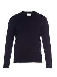Acne Studios Lang Crew Neck Knit Sweater