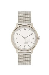 Mondaine Helvetica No1 Regular Metallic Silver