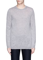 Barena 'Ato' Wool Open Knit Sweater Grey