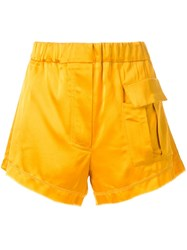 Manning Cartell Front Pocket Shorts Yellow Orange