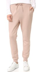Alexander Wang Soft French Terry Sweatpants Sandstone