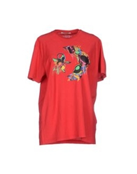 Converse T Shirts Red