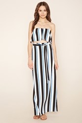 Forever 21 Contemporary Striped Maxi Skirt