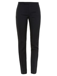 Saint Laurent Skinny Leg Wool Twill Trousers