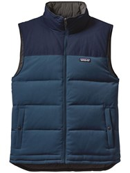 Patagonia Reversible Bivy Down Men's Gilet Glass Blue