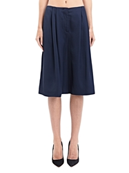 New Season Gabriele Colangelo Womens Double Viscose Cropped Pants