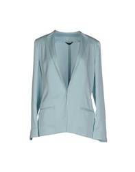Tonello Suits And Jackets Blazers Women Sky Blue