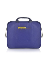 Working Line Double Handle Ipad Case Blue