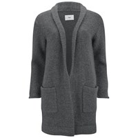 Folk Women's Robe Cardigan Charcoal Grey