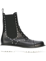 Dolce And Gabbana Utility Boots Black