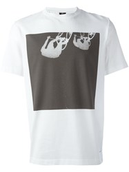 Paul Smith Ps By Cycling Print T Shirt White
