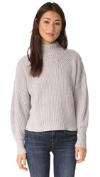 Rebecca Minkoff Algo Wool Sweater Light Grey