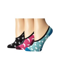 Vans Night Lights Canoodles White Women's No Show Socks Shoes