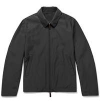 Canali Reversible Shell Jacket Gray