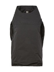 Rick Owens Feather Down Cocoon Top Black