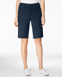 Charter Club Embellished Bermuda Shorts Only At Macy's Intrepid Blue