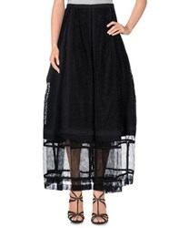 Rochas Skirts Long Skirts Women Black