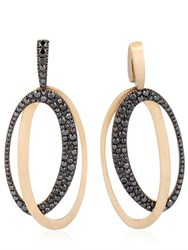 Antonini Black And White Earrings