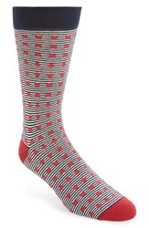 Men's Ted Baker London Stripe And Spot Socks 3 For 38