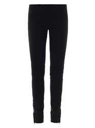 Isabel Marant Luther Leather Panel Leggings