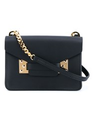 Sophie Hulme Mini 'Milner' Crossbody Bag Black