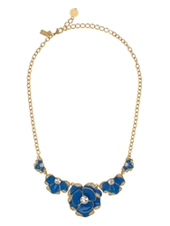 Kate Spade Beach House Bouquet Pendant Ocean Blue