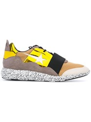 Haus By Ggdb Strap Detail Sneakers Yellow Orange