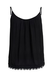 Superdry Essential Lacy Cami Top Black