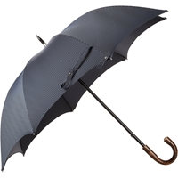 Barneys New York Compact Pinstripe Folding Umbrella