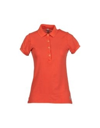 Original Vintage Style Polo Shirts Coral