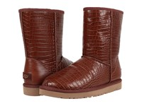 Ugg Classic Short Croco Spice Women's Boots Red