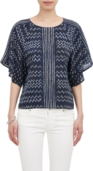 Ulla Johnson Jamila Blouse Blue