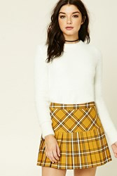 Forever 21 Ribbed Fuzzy Knit Sweater