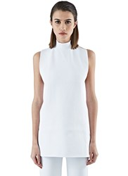 Marni Backless Halterneck Top White