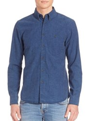 Nudie Jeans Organic Cotton Woven Shirt Denim